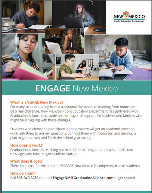 Engage New Mexico Flyer